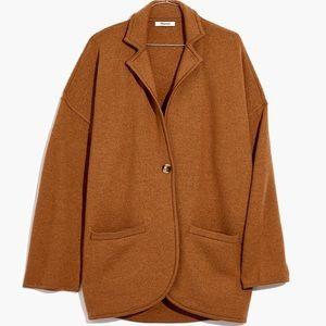 Madewell sweater blazer